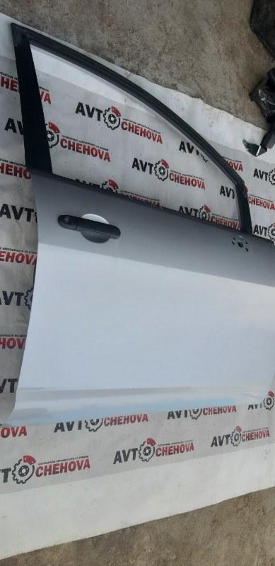 Дверь (в отличном состоянии) Nissan Tiida Latio SC11-254158 HR15 2010 передняя правая