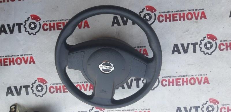 Руль (с подушкой) Nissan Tiida Latio SC11-254158 HR15 2010
