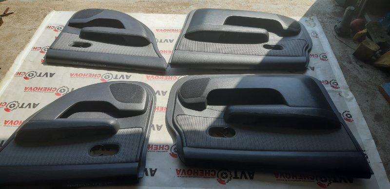 Обшивка двери (комплект) Nissan Tiida Latio SC11-254158 HR15 2010
