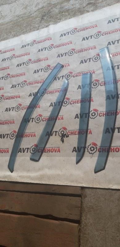 Ветровики комплект Nissan Tiida Latio SC11-254158 HR15 2010