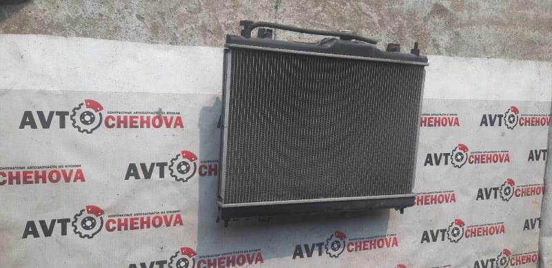 Радиатор двс (пробег 48 тыс) Nissan Tiida Latio SC11-254158 HR15 2010