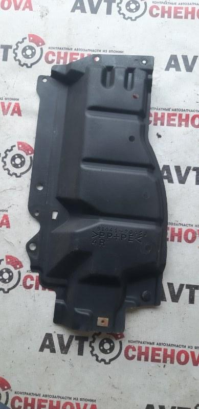 Защита двигателя Toyota Allion ZRT265-3007836 2ZR-FE 2008 передняя правая