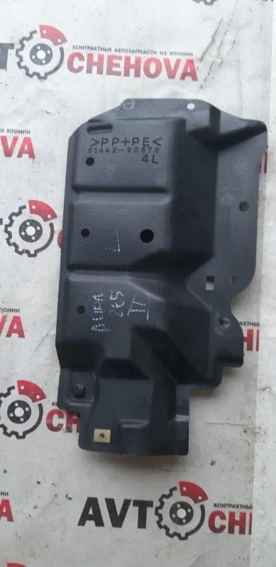 Защита двигателя Toyota Allion ZRT265-3007836 2ZR-FE 2008 передняя левая