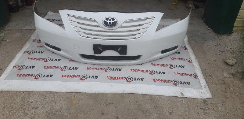 Бампер (в хорошем состоянии) Toyota Camry ACV40-3132749 2AZ-FE 2007 передний