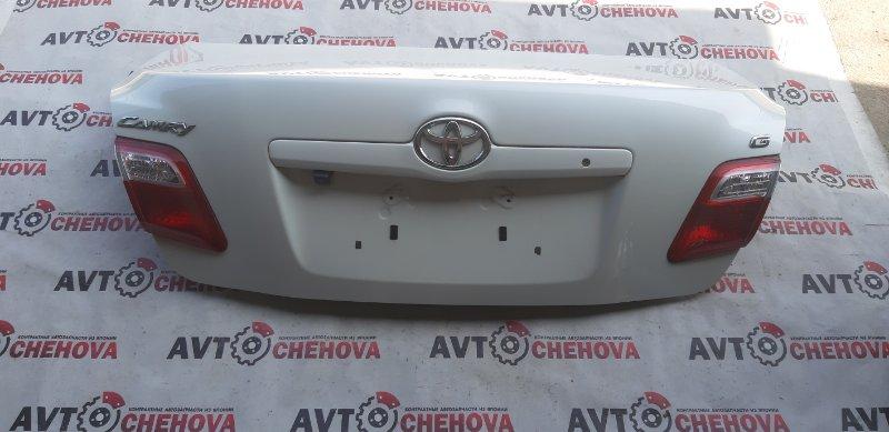 Крышка багажника (в отличном состоянии) Toyota Camry ACV40-3132749 2AZ-FE 2007