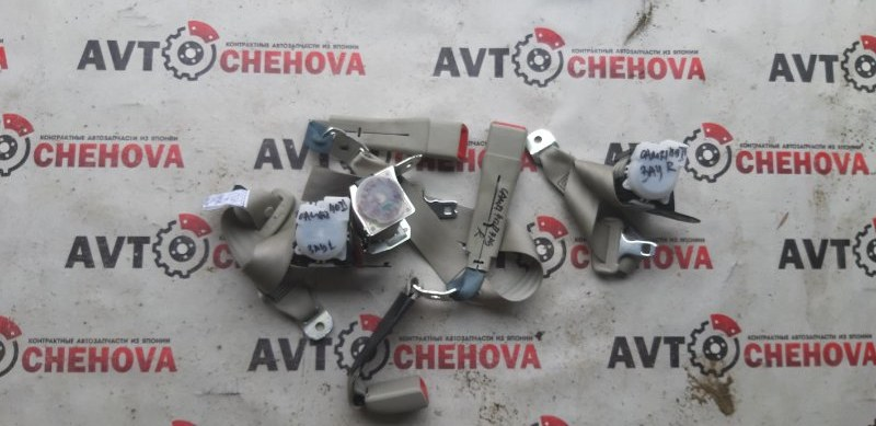 Ремень безопасности Toyota Camry ACV40-3132749 2AZ-FE 2007 задний