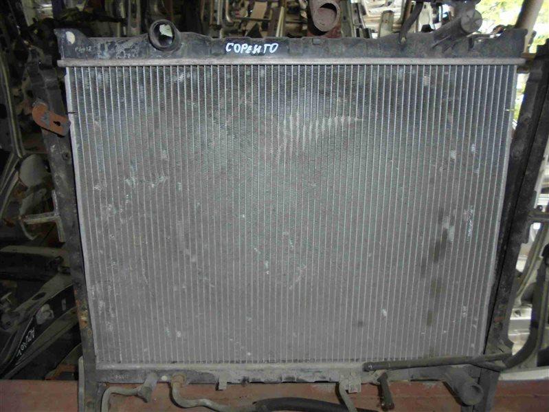Радиатор основной Kia Sorento BL D4CB 2005