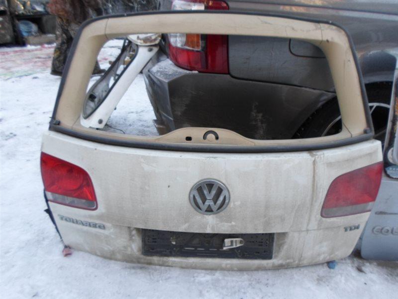 Дверь 5-я Volkswagen Touareg 7LA BAK 2005