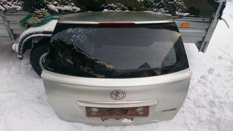 Дверь 5-я Toyota Avensis AZT250 1AZ-FE 2004