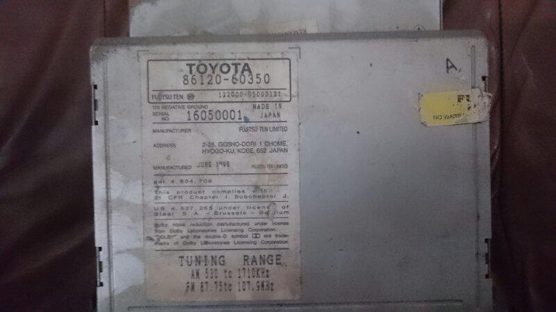 Магнитофон Lexus Lx470 UZJ100 2UZ-FE 1999