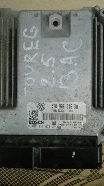 Блок efi Volkswagen Touareg 7LA BAC 2006