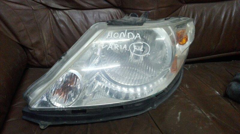 Фара Honda Fit Aria GD-6 L13A 2002 передняя левая