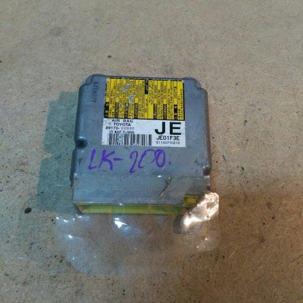 Блок управления airbag Toyota Land Cruiser 200 VDJ200 1VD-FTV 2010