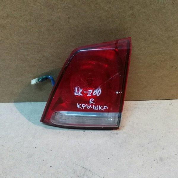 Стоп в крышку багажника Toyota Land Cruiser 200 VDJ200 1VD-FTV 2010 задний правый
