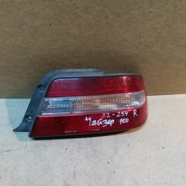 Стоп Toyota Chaser GX100 1G-FE 1999 задний правый