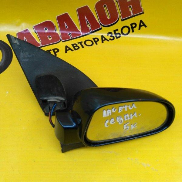 Зеркало Chevrolet Lacetti J200 F14D3 2007 правое