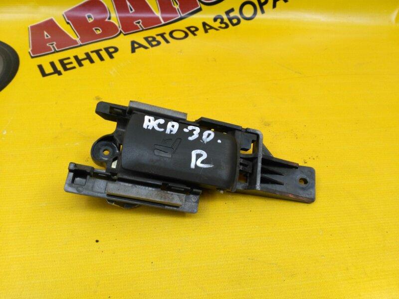 Ручка складывания сидения Toyota Rav4 ACA31 1AZ-FE 2006 задняя правая