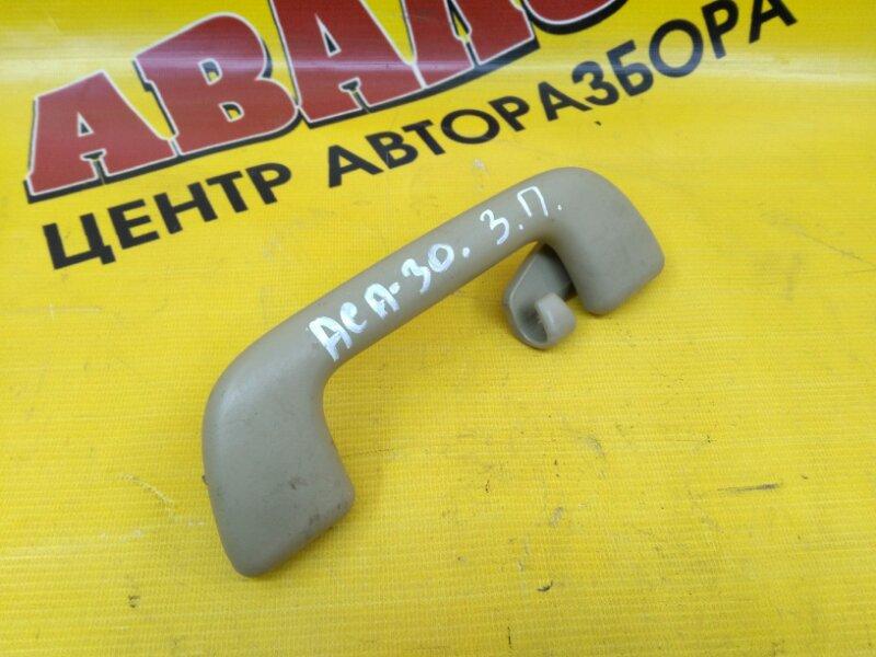 Ручка потолка Toyota Rav4 ACA31 1AZ-FE 2006 задняя правая