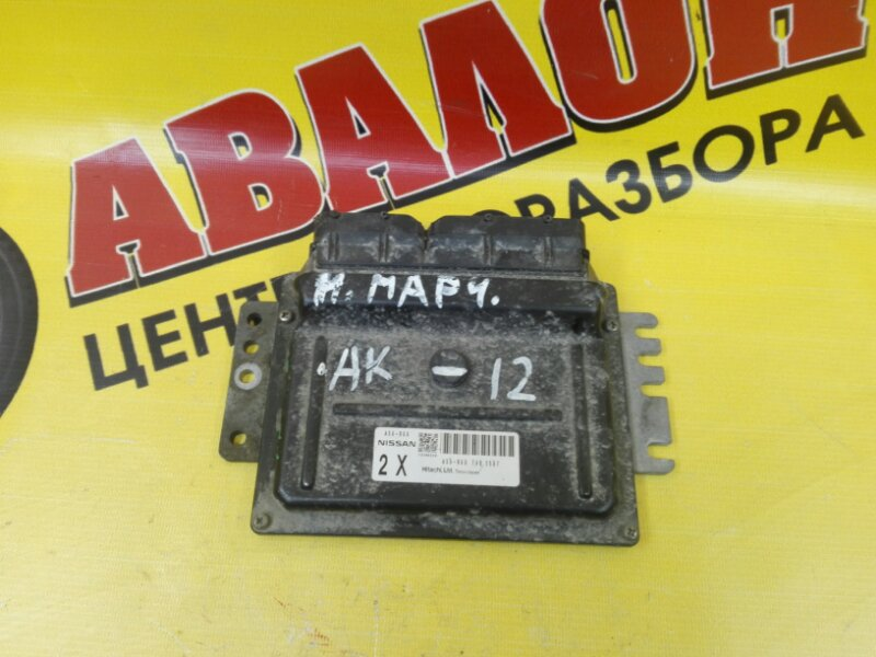 Блок efi Nissan March AK12 CR12DE 2002
