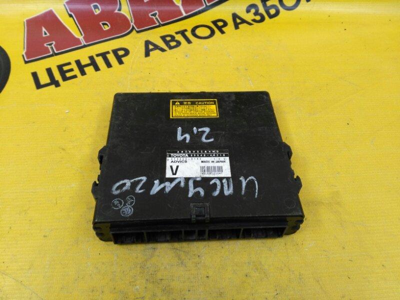 Блок efi Toyota Ipsum ACM26 2AZ-FE 2002