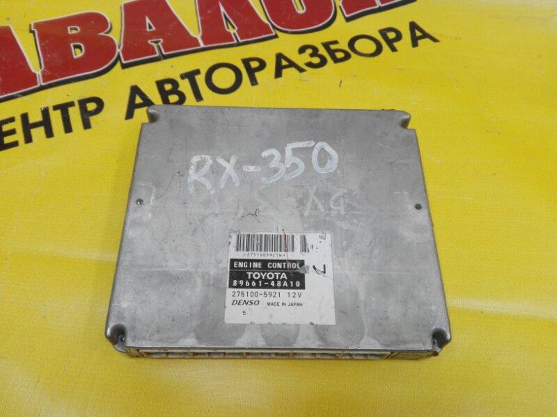 Блок efi Lexus Rx350 GSU35 2GR-FE 2006
