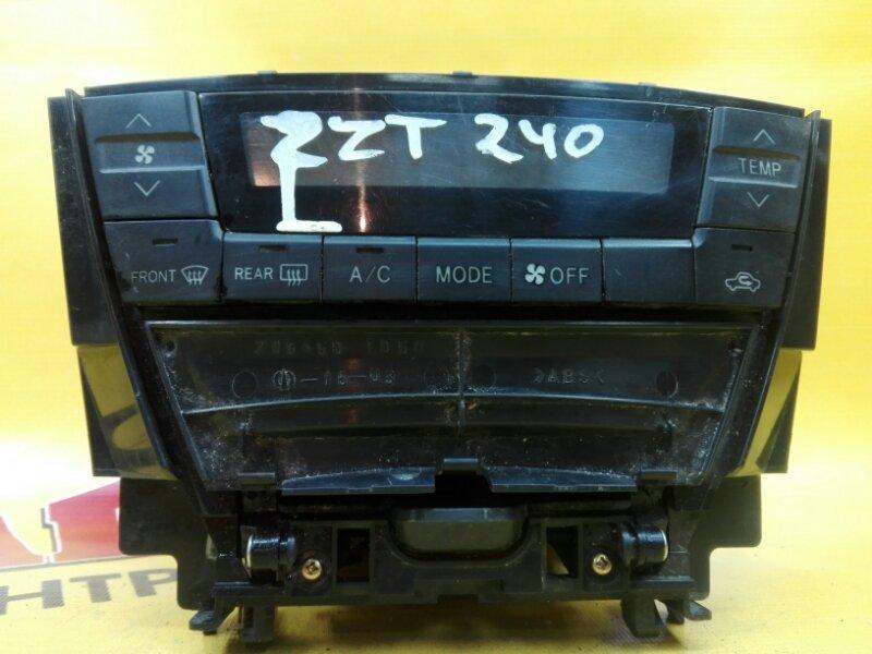 Блок управления климат-контролем Toyota Premio AZT245 1ZZ-FE 2002