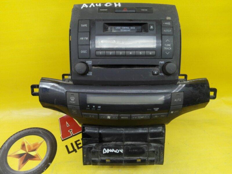 Магнитофон Toyota Allion ZZT240 1ZZ-FE 2003