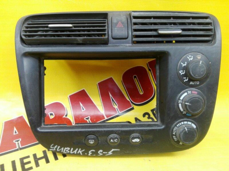 Блок управления климат-контролем Honda Civic Ferio LA-ES2 D15B 2000
