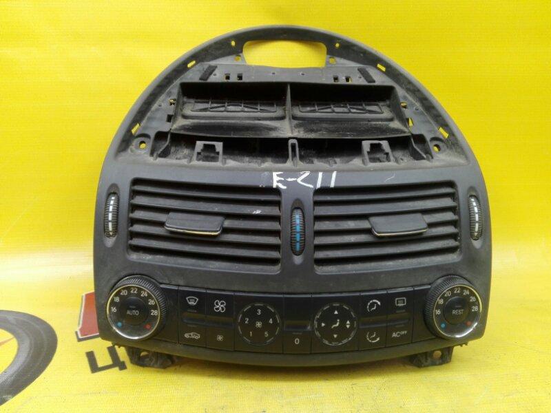 Блок управления климат-контролем Mercedes-Benz E-Class W211 M 112 E 32 2004