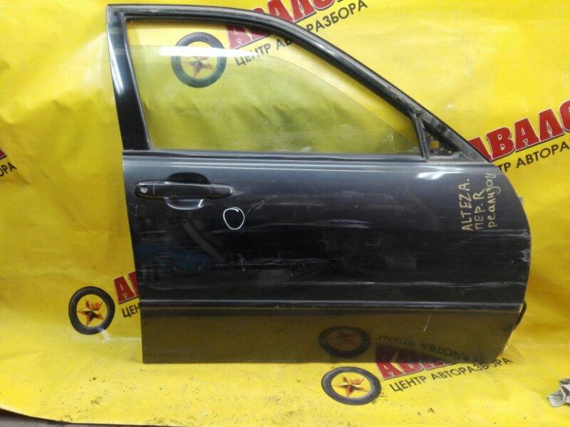 Дверь боковая Toyota Altezza TA-GXE10 1G-FE 2000 передняя правая