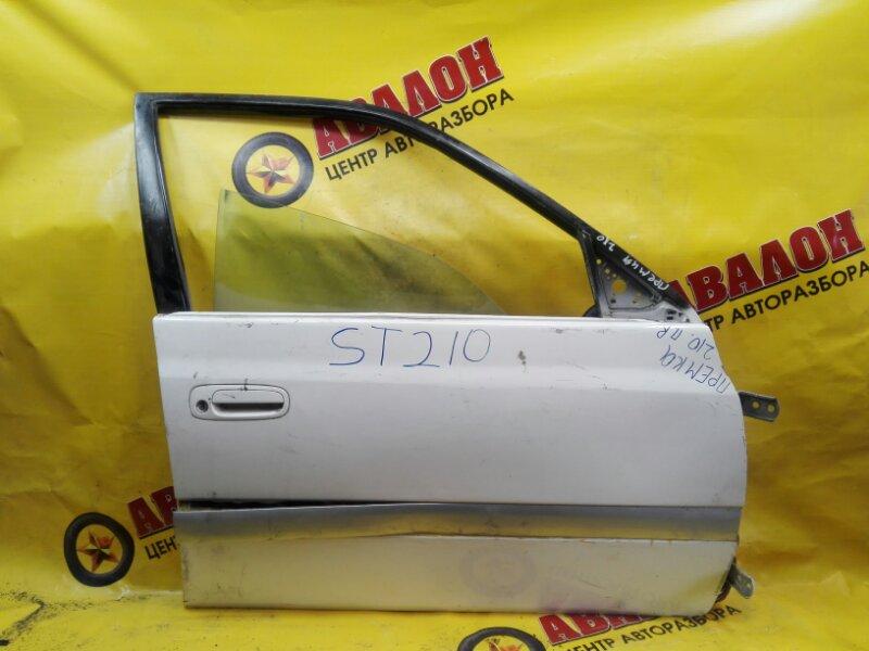 Дверь боковая Toyota Corona Premio ST210 3S-FE 2000 передняя правая
