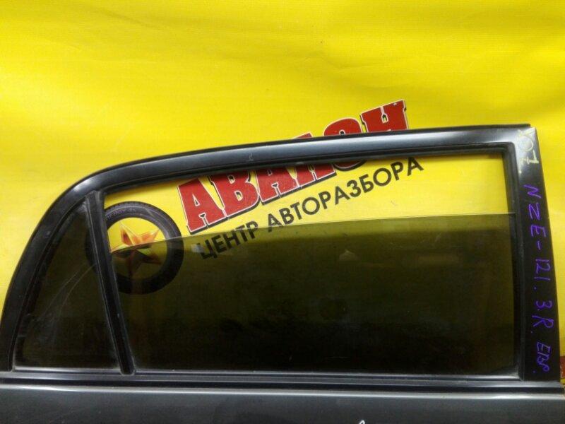 Боковое стекло Toyota Allex NZE121 1NZ-FE 2004 заднее правое