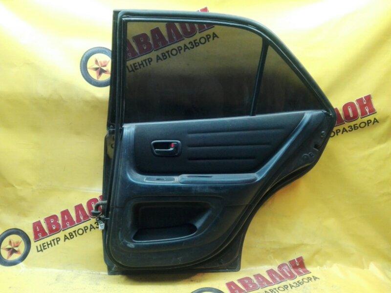 Обшивка двери Toyota Altezza TA-GXE10 1G-FE 2000 задняя правая