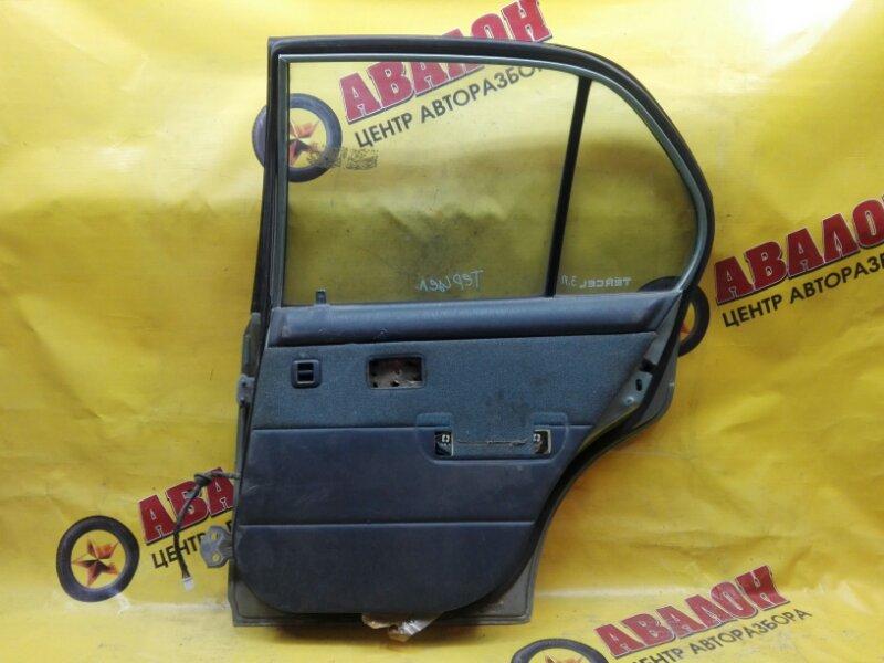 Обшивка двери Toyota Tercel EL41 4E-FE 1991 задняя правая