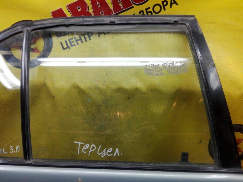 Боковое стекло Toyota Tercel EL41 4E-FE 1991 заднее правое