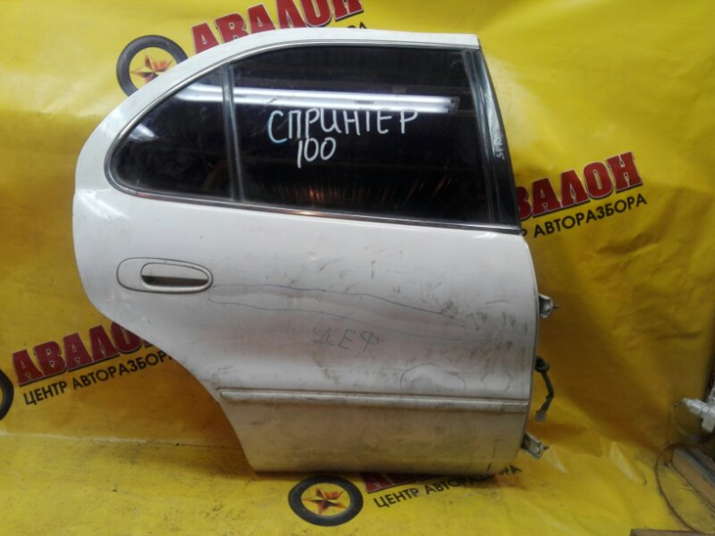 Дверь боковая Toyota Sprinter AE100 4E-FE 1993 задняя правая