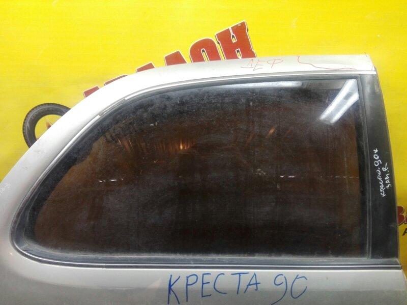 Боковое стекло Toyota Cresta GX90 1G-FE 1999 заднее правое