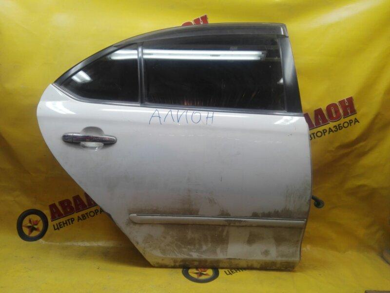 Дверь боковая Toyota Premio AZT245 1ZZ-FE 2002 задняя правая