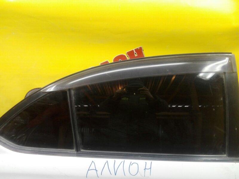Боковое стекло Toyota Premio AZT245 1ZZ-FE 2002 заднее правое