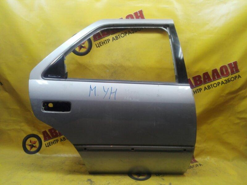 Дверь боковая Toyota Mark Ii Wagon Qualis MCV21 2MZ-FE 2001 задняя правая