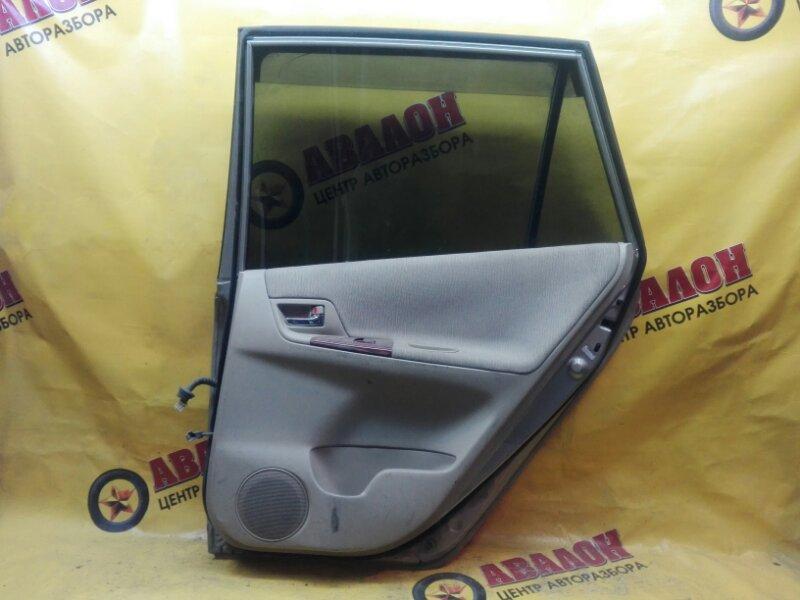 Обшивка двери Toyota Spacio NZE121 1NZ-FE 2002 задняя правая