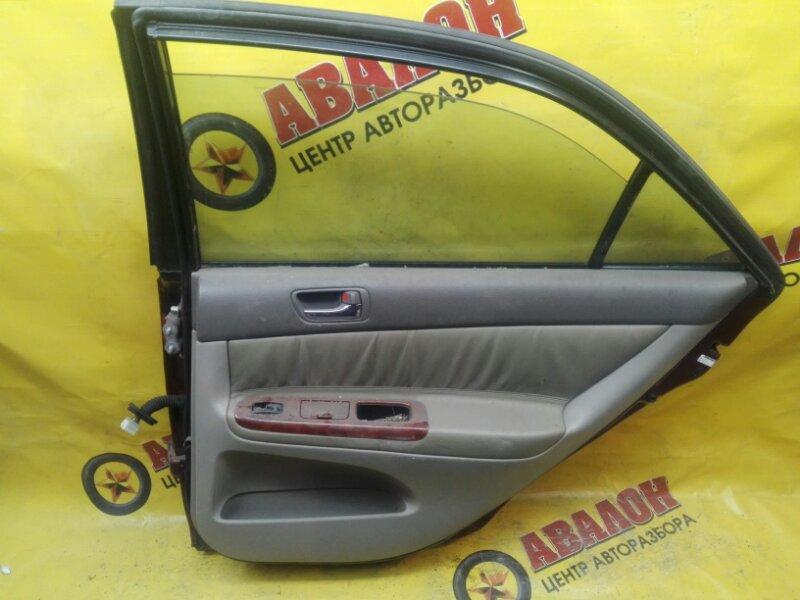 Обшивка двери Toyota Camry ACV30 1AZ-FE 2002 задняя правая
