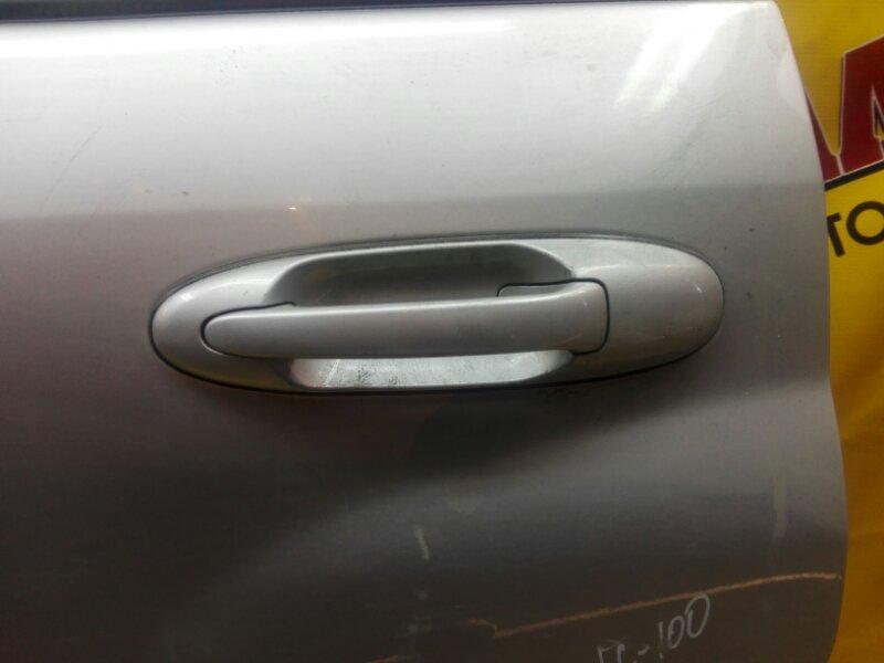 Ручка двери внешняя Toyota Land Cruiser 100 UZJ100 2UZ-FE 1999 задняя левая