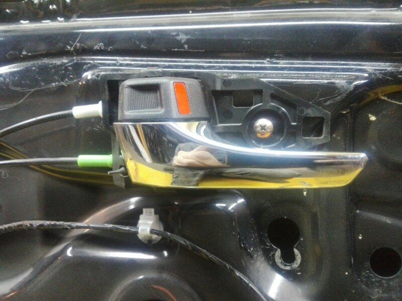 Ручка двери внутренняя Toyota Camry ASV50 2AR-FE 2013 задняя левая