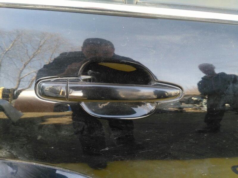Ручка двери внешняя Lexus Gx470 UZJ120 2UZ-FE 2002 задняя правая