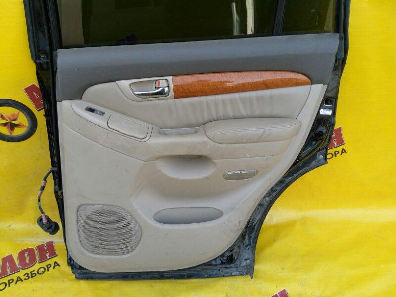 Обшивка двери Lexus Gx470 UZJ120 2UZ-FE 2002 задняя правая