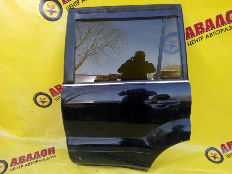Дверь боковая Lexus Gx470 UZJ120 2UZ-FE 2002 задняя левая