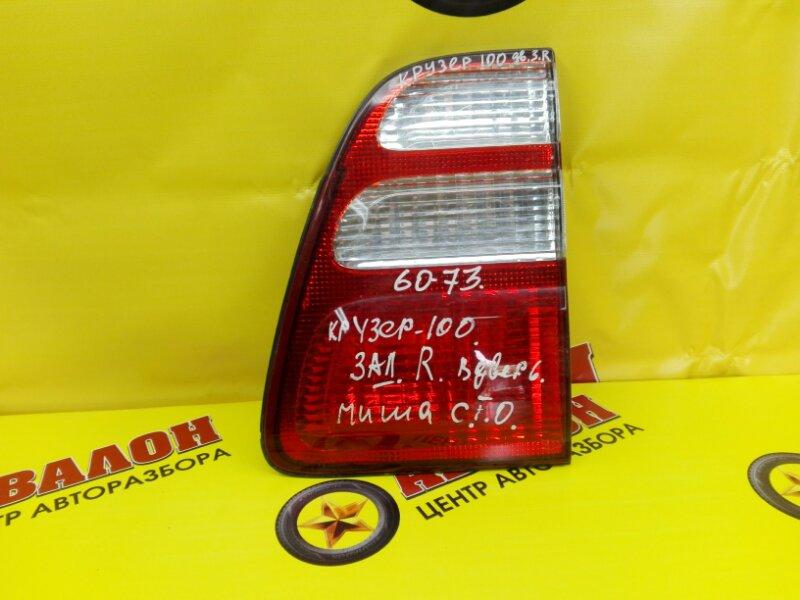 Стоп в крышку багажника Toyota Land Cruiser 100 UZJ100 2UZ-FE 1999 задний правый