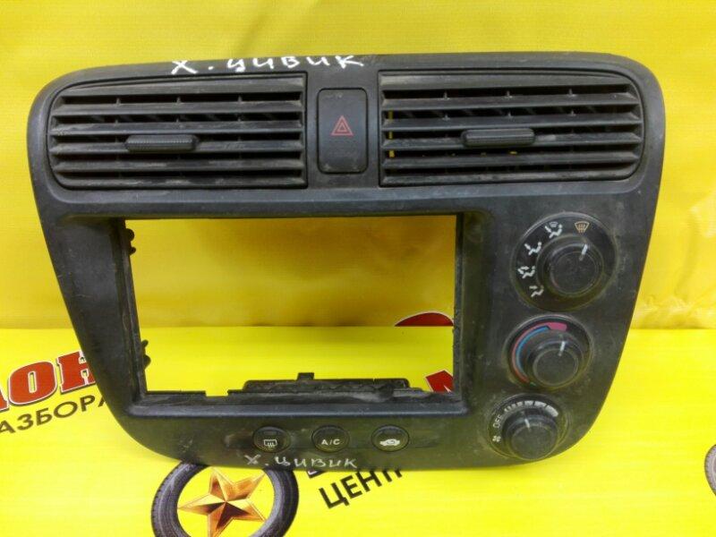 Блок управления климат-контролем Honda Civic LA-EN2 D16W 2004