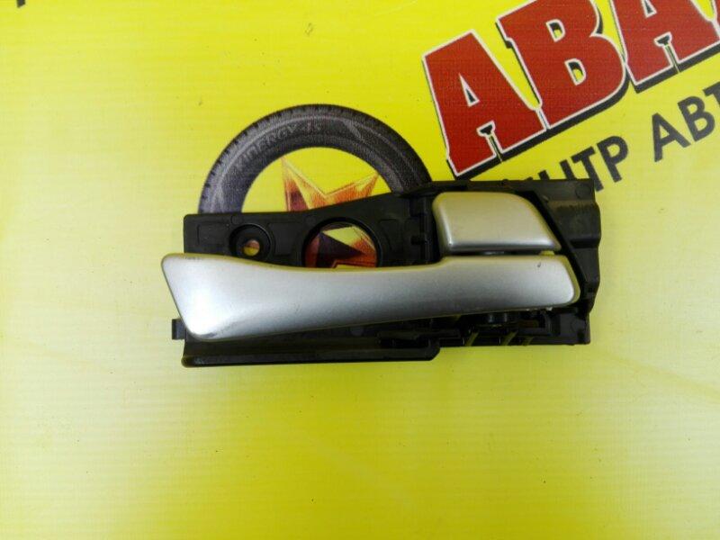 Ручка двери внутренняя Hyundai Solaris RB G4FA 2011 задняя правая